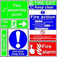 More info on Fire & Emergency Signs