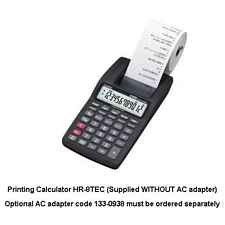 More info on Casio HR-8TEC Printing Calculator